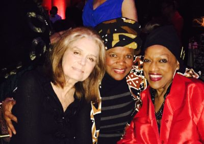 …with two of my favorite sheroes! Gloria Steinem and Jessye Norman